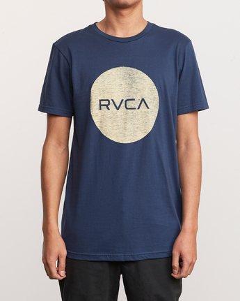 1 Motors Push T-Shirt Blue M401URMP RVCA