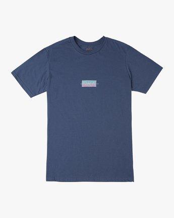 1 Split Scrawl T-Shirt Blue M401URSP RVCA