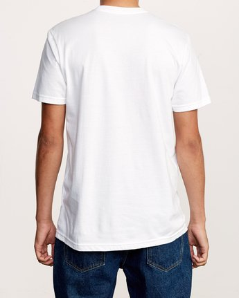 3 Angels Of Light T-Shirt White M401VRAN RVCA