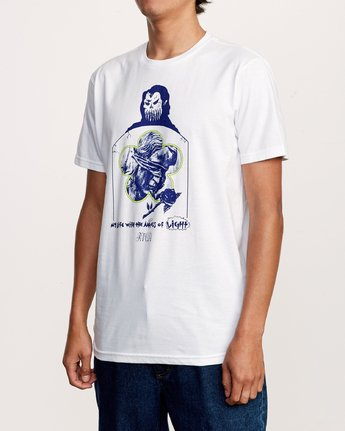 2 Angels Of Light T-Shirt White M401VRAN RVCA