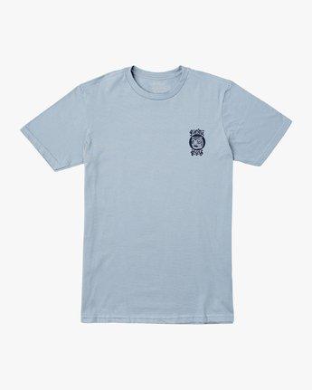1 Lienes Bengal T-Shirt Blue M401VRBE RVCA