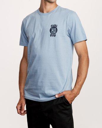 3 Lienes Bengal T-Shirt Blue M401VRBE RVCA