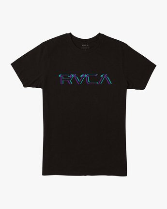 0 Big Glitch TEE Black M401VRBG RVCA