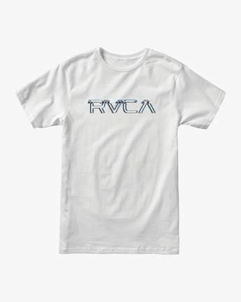 0 Big Glitch TEE White M401VRBG RVCA