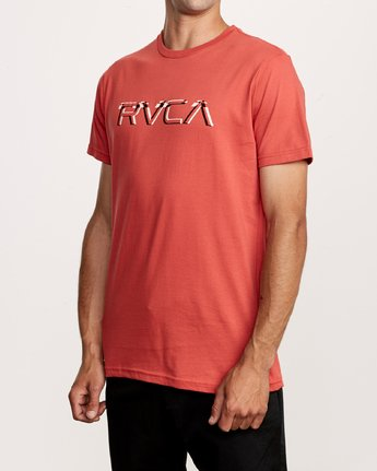 2 Big Glitch TEE Grey M401VRBG RVCA