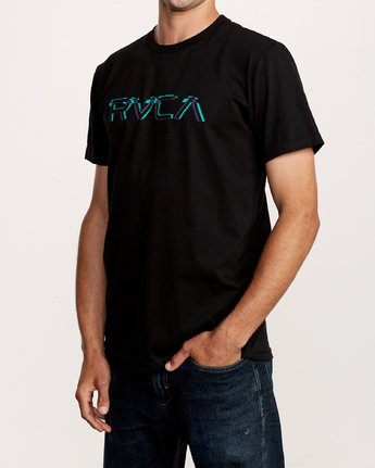 2 Big Glitch T-Shirt Black M401VRBG RVCA