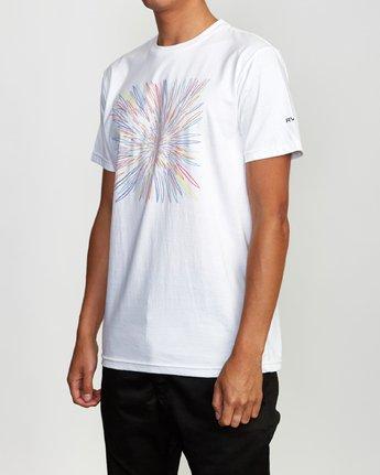 3 Johanson BL Tokyo T-Shirt White M401VRCJ RVCA