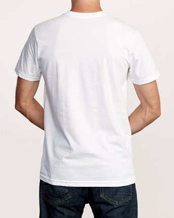 3 Crushed Nature T-Shirt White M401VRCN RVCA