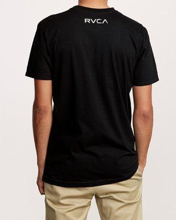 3 Copycat T-Shirt Black M401VRCO RVCA