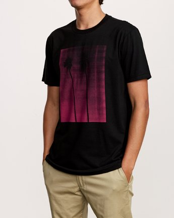 2 Copycat T-Shirt Black M401VRCO RVCA