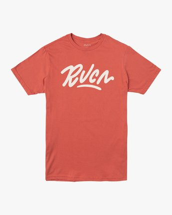 0 Flow T-Shirt Green M401VRFL RVCA