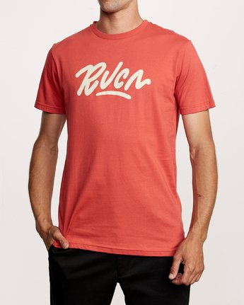 1 Flow T-Shirt Grey M401VRFL RVCA