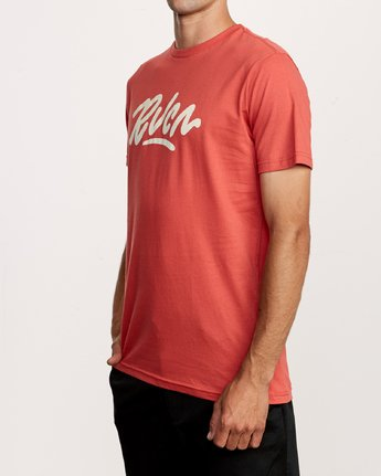 2 Flow T-Shirt Green M401VRFL RVCA