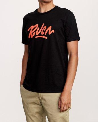 2 Flow T-Shirt Black M401VRFL RVCA