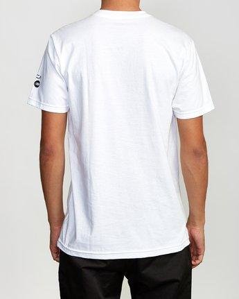 3 HotFudge Tokyo T-Shirt White M401VRHF RVCA