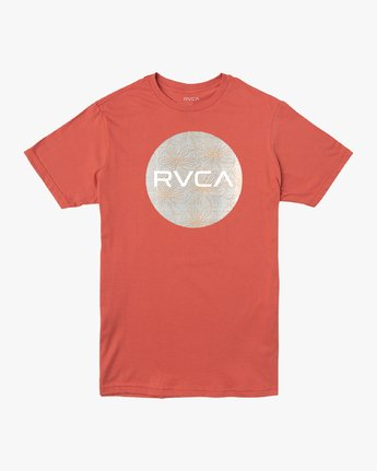 0 Motors Mix T-Shirt Green M401VRMO RVCA