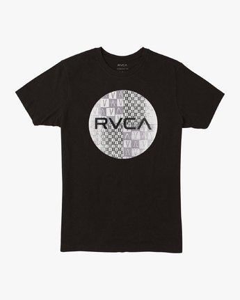 0 Motors Mix T-Shirt Black M401VRMO RVCA