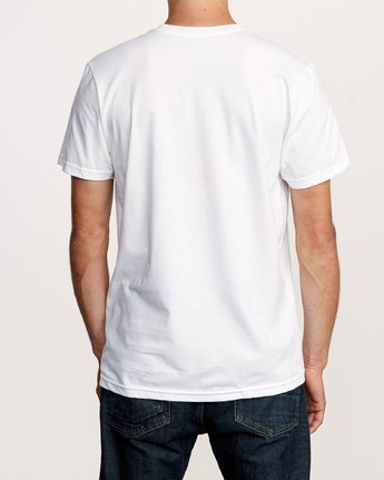3 Motors Mix T-Shirt White M401VRMO RVCA