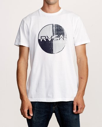 1 Motors Mix T-Shirt White M401VRMO RVCA