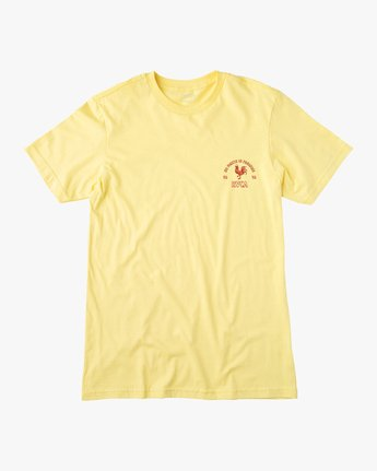 1 No Fight T-Shirt Yellow M401VRNO RVCA