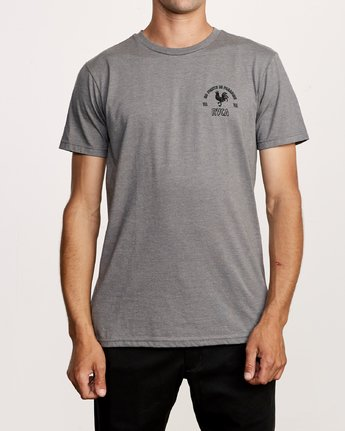 2 No Fight T-Shirt Grey M401VRNO RVCA