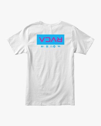 1 RVCA Tokyo T-Shirt White M401VRRT RVCA