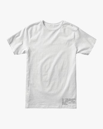 1 Spec T-Shirt White M401VRSP RVCA