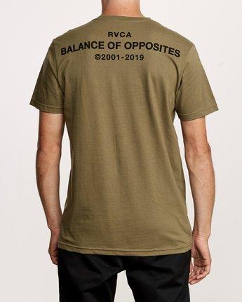 4 Spec T-Shirt Green M401VRSP RVCA