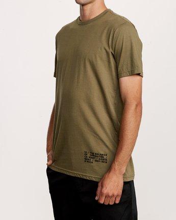 3 Spec T-Shirt Green M401VRSP RVCA