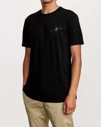 4 Smith Street T-Shirt Black M401VRSS RVCA