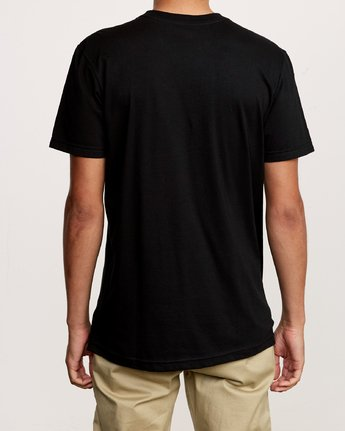 3 Axis Strike T-Shirt Black M401VRST RVCA