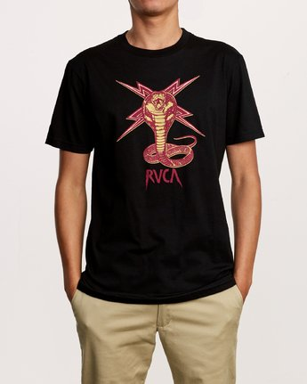 1 Axis Strike T-Shirt Black M401VRST RVCA