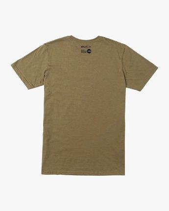 1 Francesco Swirling T-Shirt Green M401VRSW RVCA