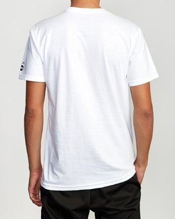 3 Ukyo Tokyo T-Shirt White M401VRUK RVCA