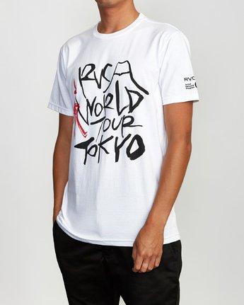 2 Ukyo Tokyo T-Shirt White M401VRUK RVCA