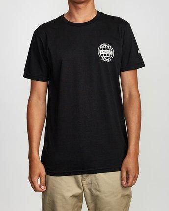 2 World Tour Tokyo T-Shirt Black M401VRWT RVCA