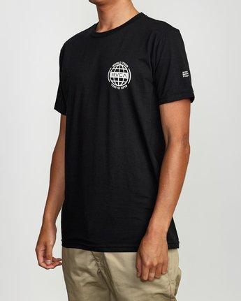 3 World Tour Tokyo T-Shirt Black M401VRWT RVCA