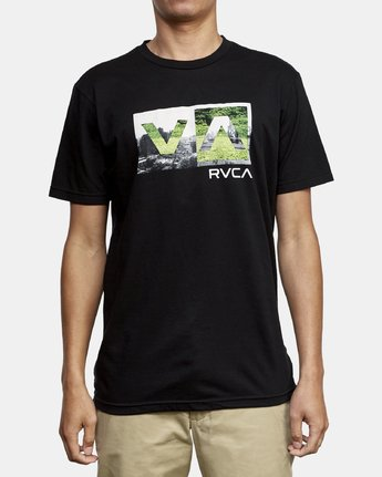 1 Balance Box T-Shirt Black M401WRBB RVCA