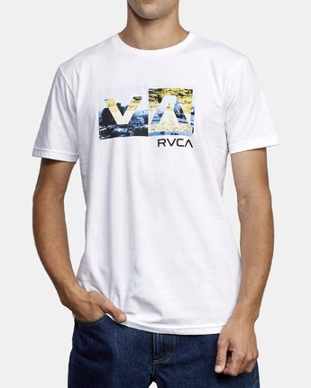 2 Balance Box T-Shirt White M401WRBB RVCA