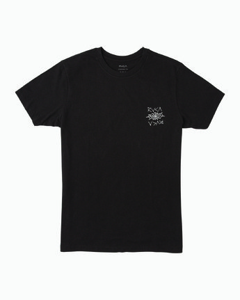 1 Cobbwebs T-Shirt Black M401WRCO RVCA
