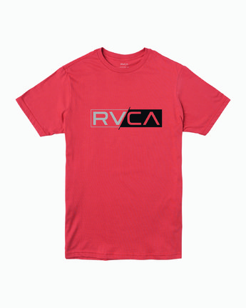 0 Lateral RVCA T-Shirt Green M401WRLA RVCA