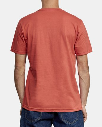 3 Lateral RVCA T-Shirt Grey M401WRLA RVCA
