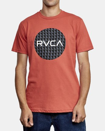 1 Motors Fill T-Shirt Grey M401WRMO RVCA