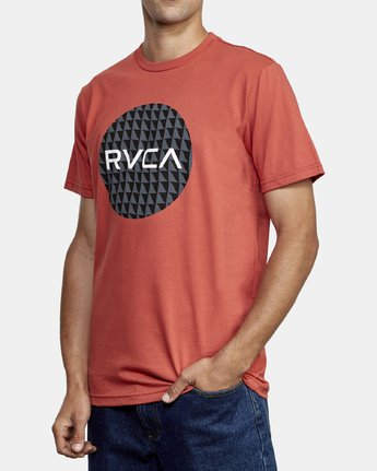 2 Motors Fill T-Shirt Grey M401WRMO RVCA