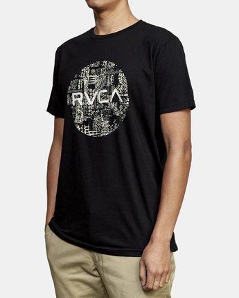 2 Motors Fill T-Shirt Black M401WRMO RVCA