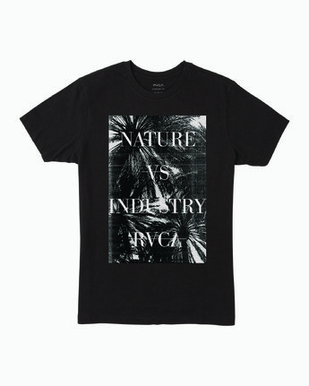 0 Photosynthesis TEE Black M401WRPH RVCA