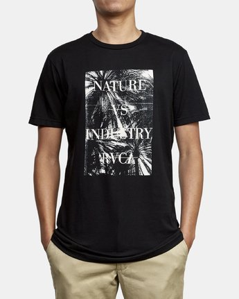 2 Photosynthesis TEE Black M401WRPH RVCA