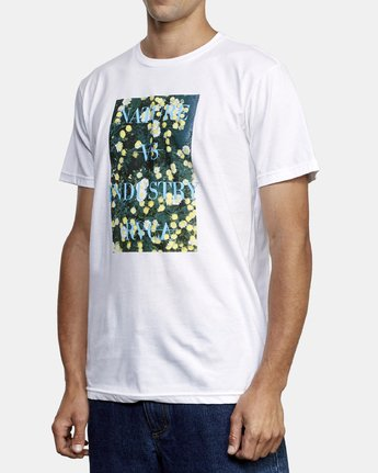 2 Photosynthesis T-Shirt White M401WRPH RVCA