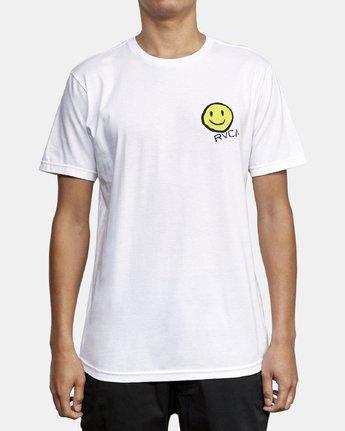 2 Andrew Pommier Twins T-Shirt White M401WRTW RVCA