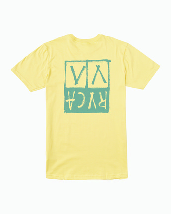 0 Unplugged T-Shirt Yellow M401WRUN RVCA